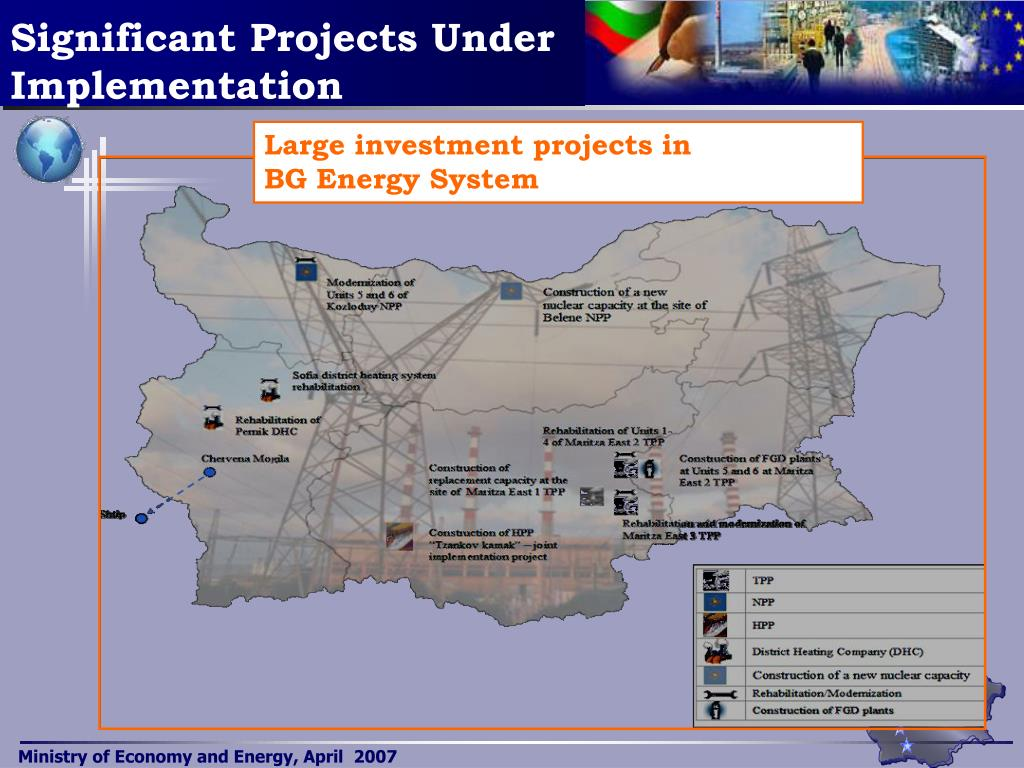 Significant Projects Under Implementation