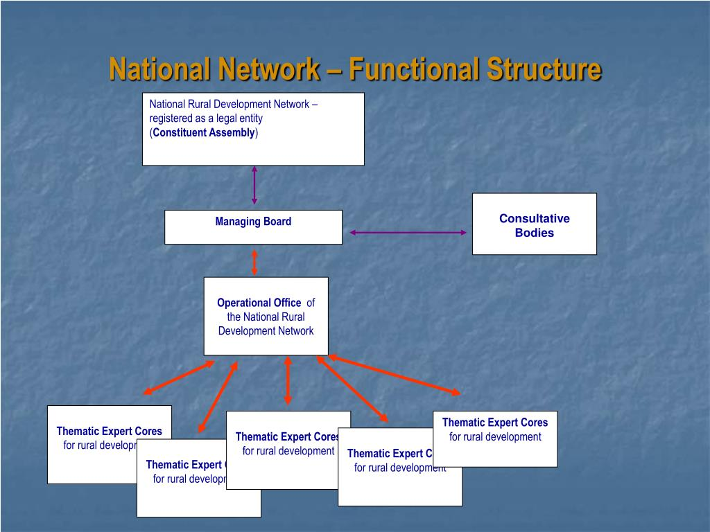 National Network – Functional Structure