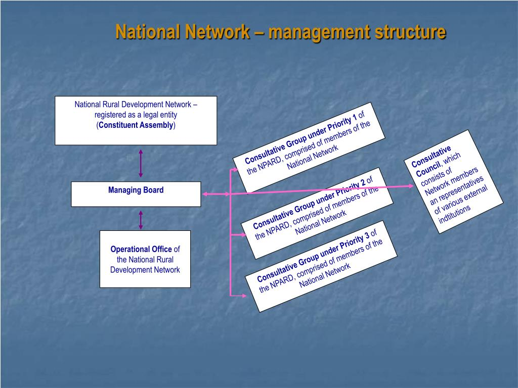National Network – management structure