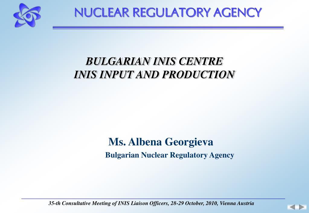 BULGARIAN INIS CENTRE