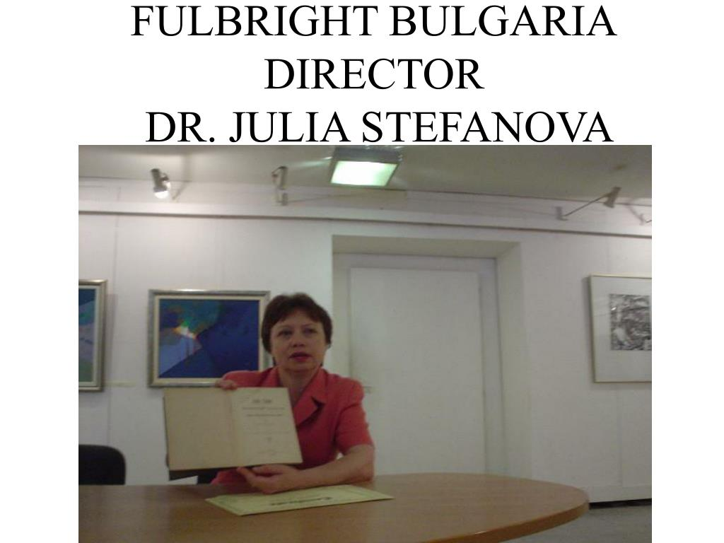 FULBRIGHT BULGARIA