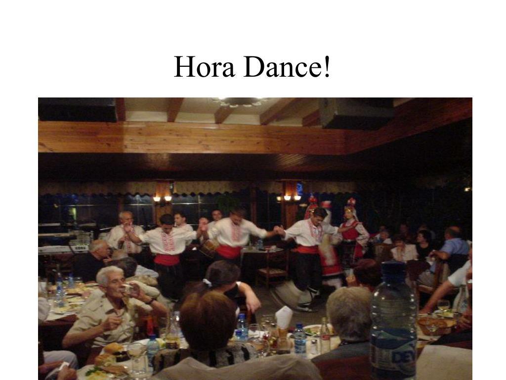 Hora Dance!