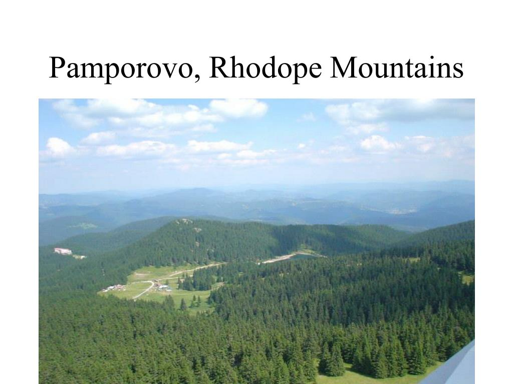 Pamporovo, Rhodope Mountains