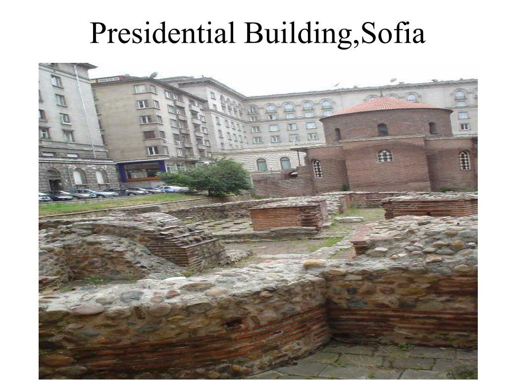 Presidential Building,Sofia
