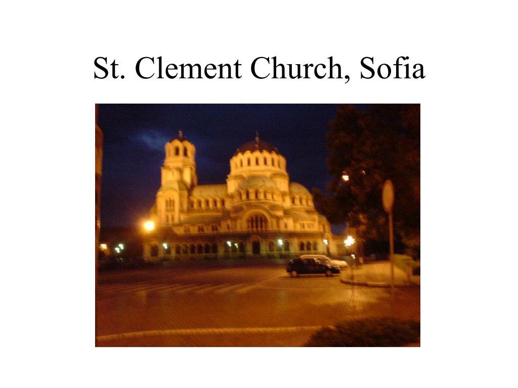 St. Clement Church, Sofia