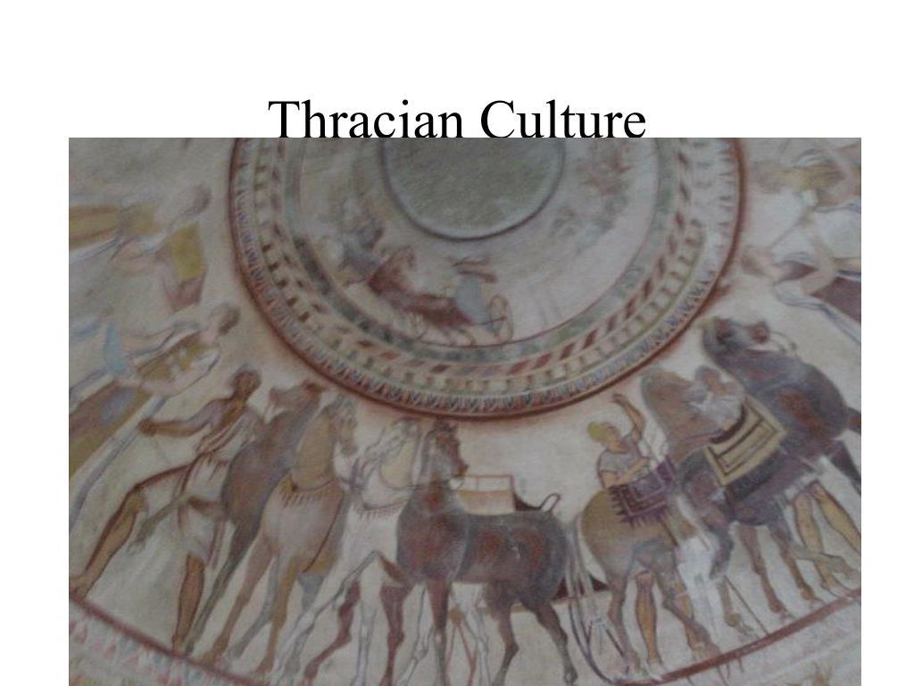 Thracian Culture