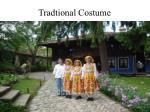 tradtional costume
