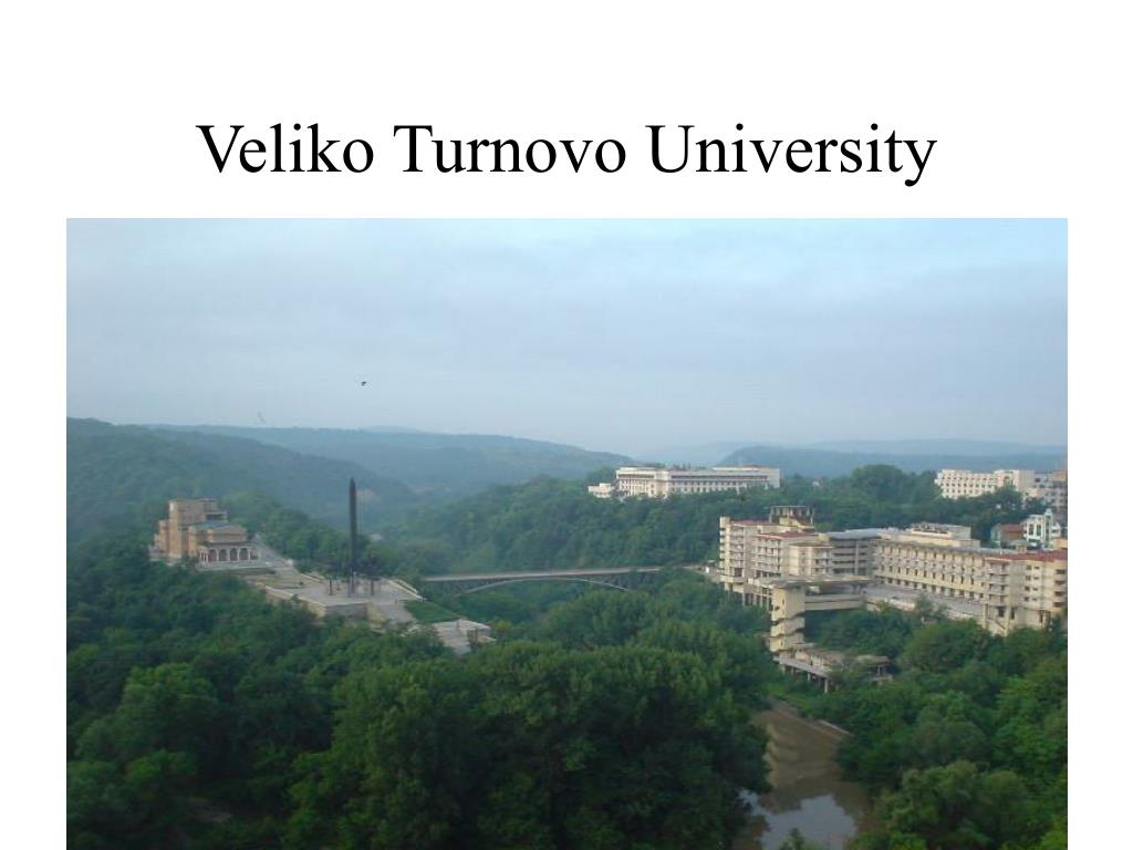 Veliko Turnovo University