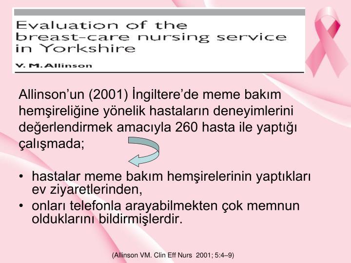Allinsonun (2001) ngilterede meme bakm