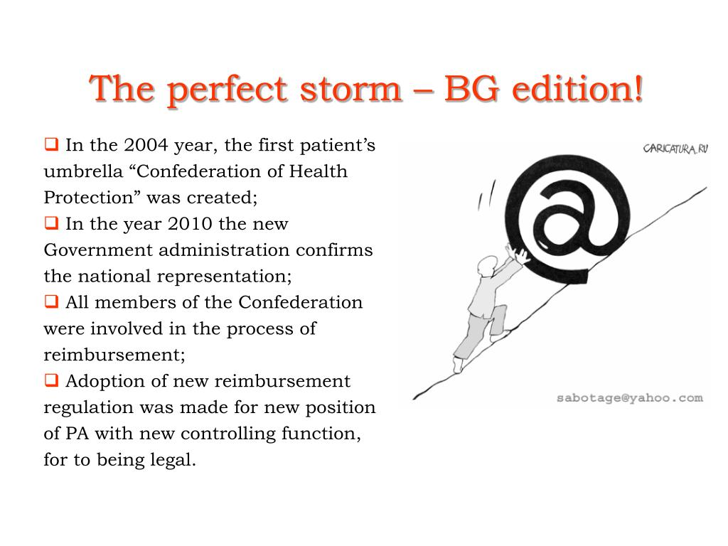 The perfect storm – BG edition!