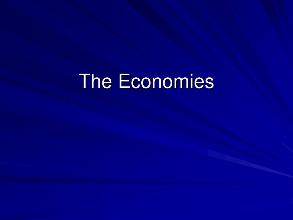 The Economies