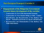 pan european transport corridor 46