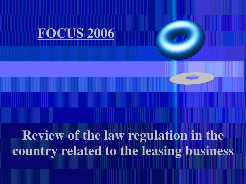 FOCUS 2006