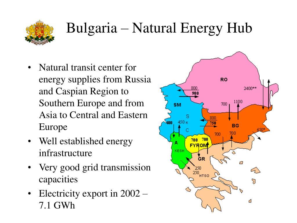 Bulgaria – Natural Energy Hub