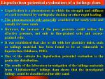 liquefaction potential evaluation of a tailings dam34