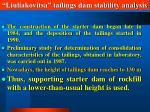 liuliakovitsa tailings dam stability analysis13