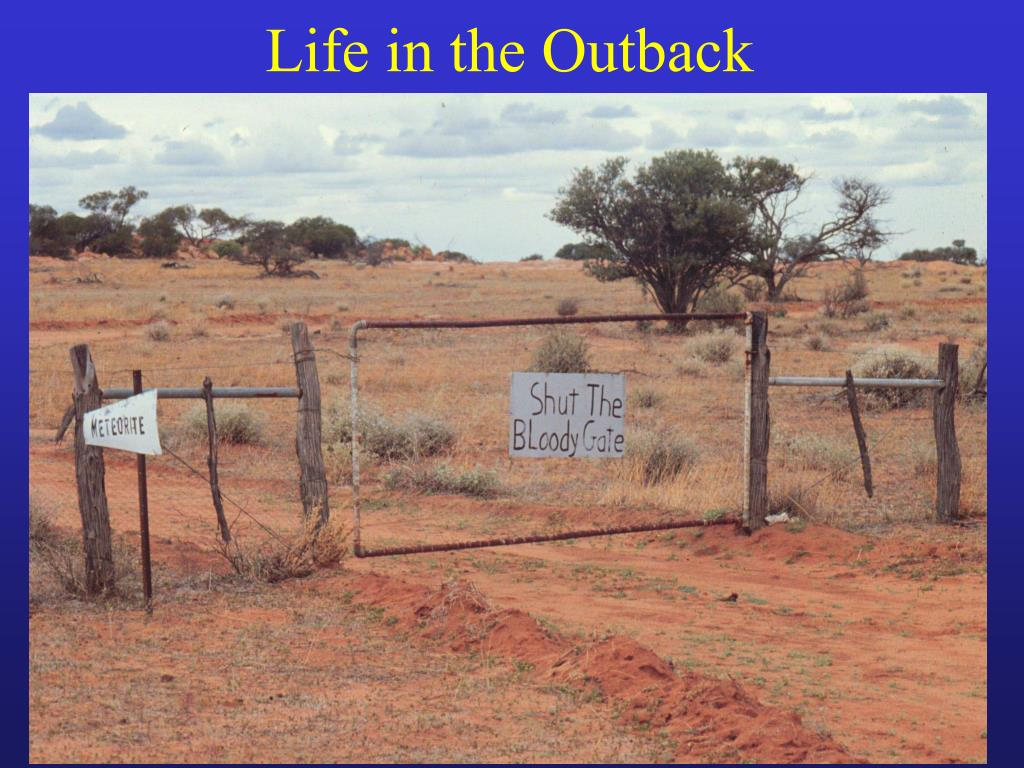 Life in the Outback
