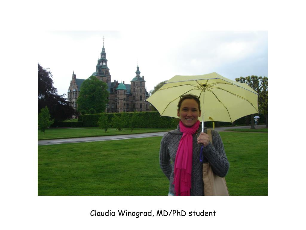 Claudia Winograd, MD/PhD student