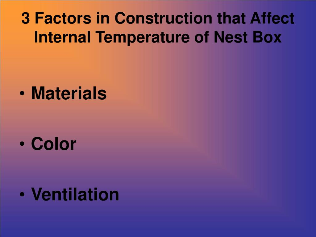 3 Factors in Construction that Affect