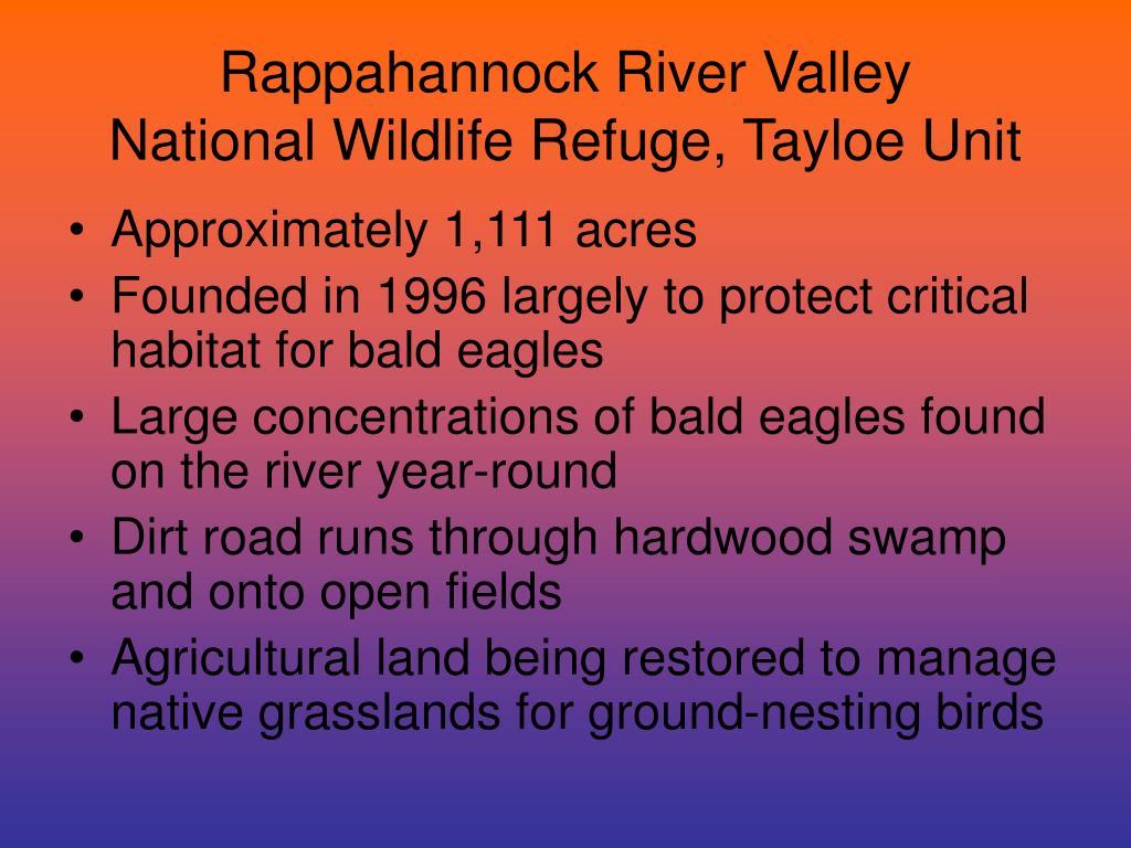 Rappahannock River Valley