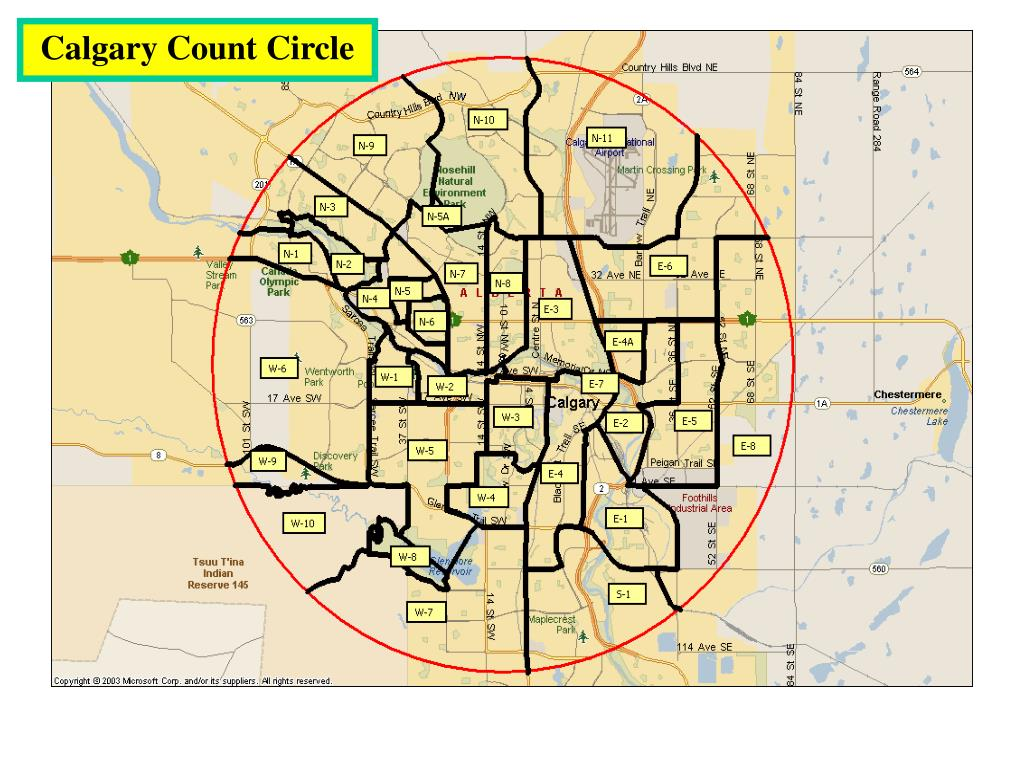Calgary Count Circle