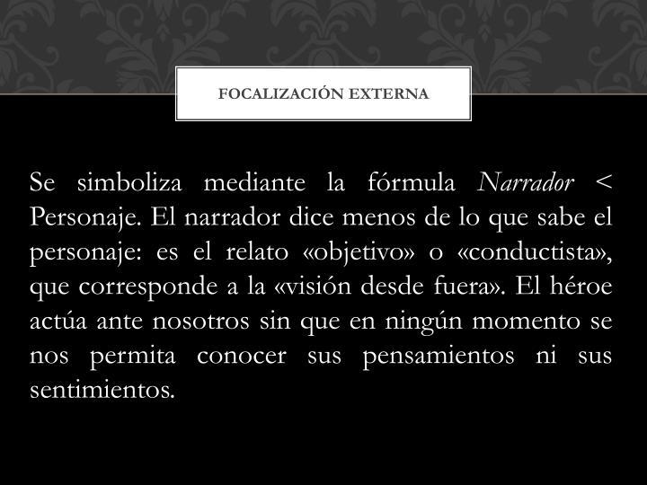Focalización externa