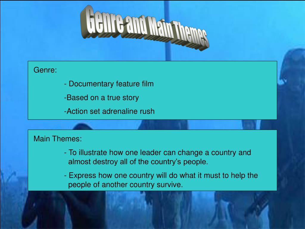 Genre and Main Themes