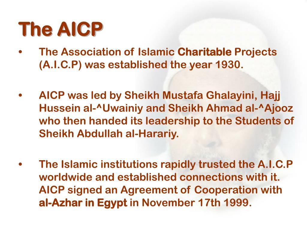 The AICP