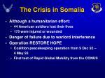 the crisis in somalia9