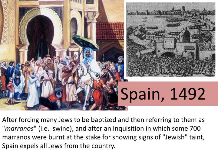 Spain, 1492