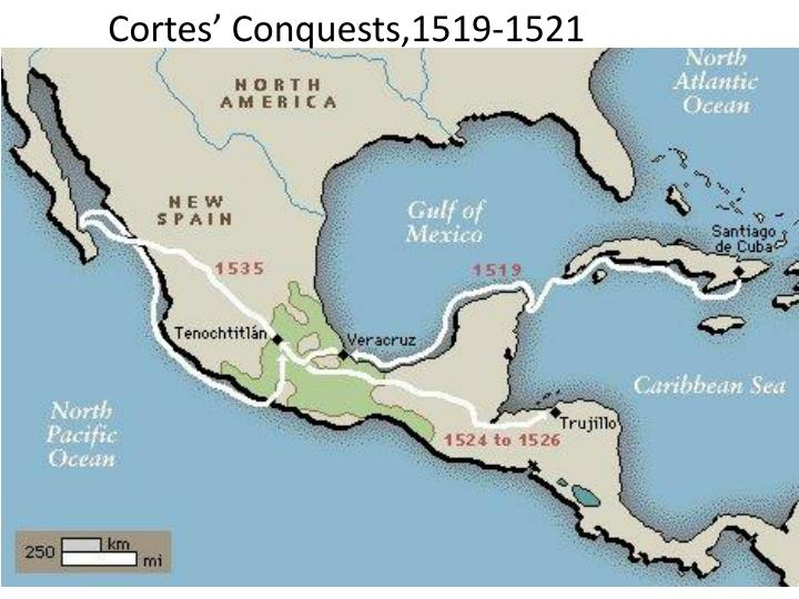 Cortes' Conquests,1519-1521