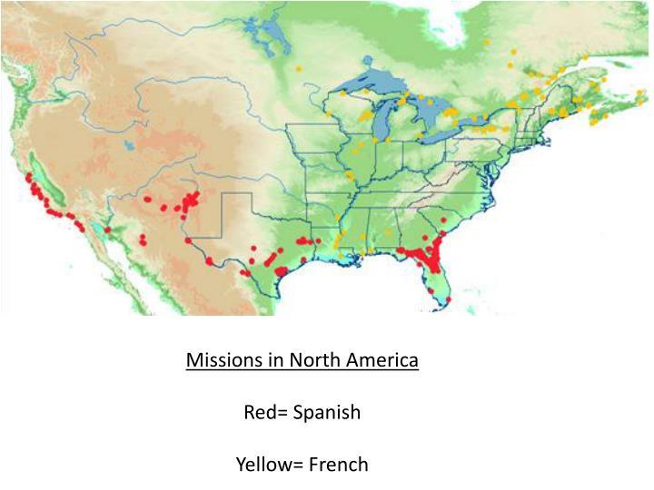 Missions in North America