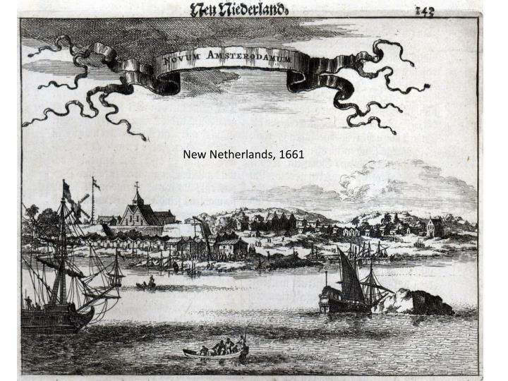 New Netherlands, 1661