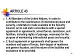 article 43