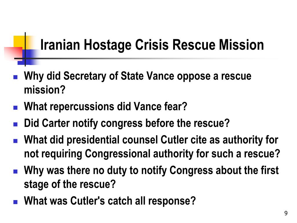 Iranian Hostage Crisis Rescue Mission