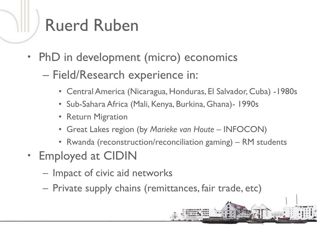 Ruerd Ruben