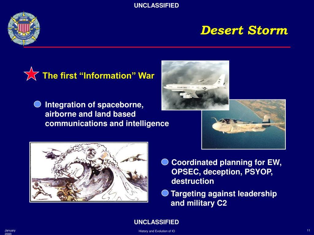 Integration of spaceborne,