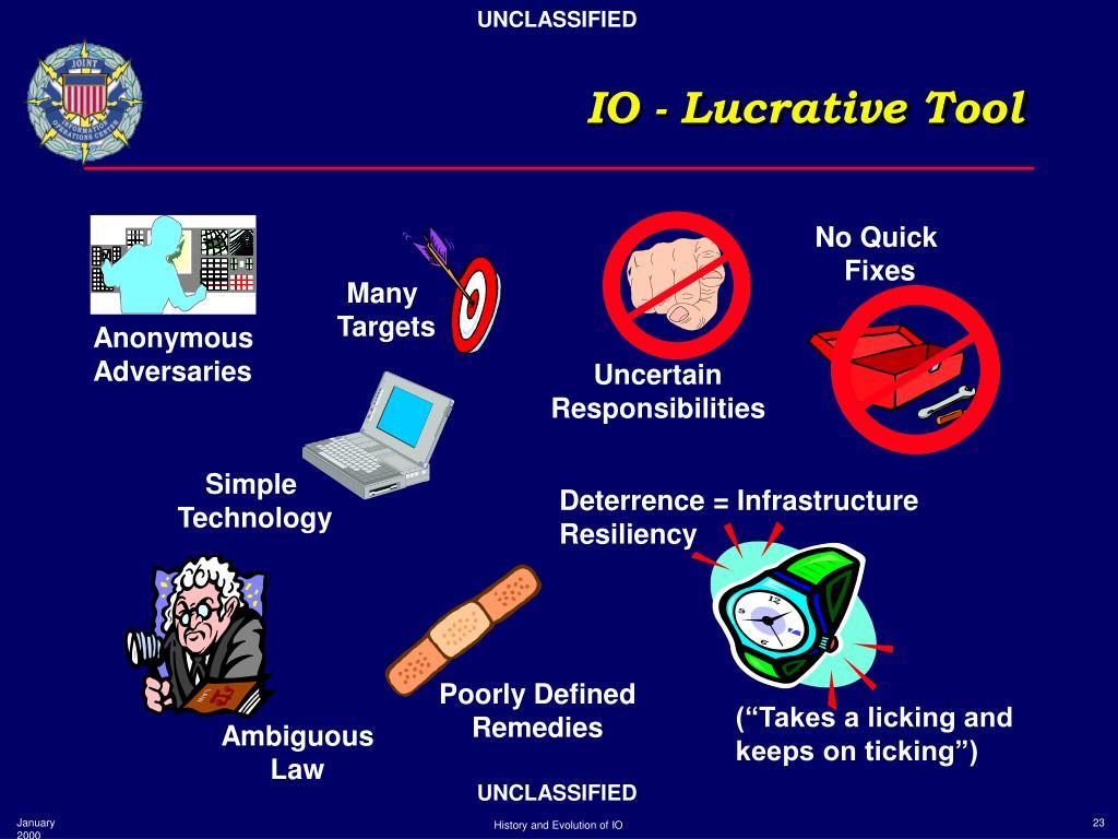 IO - Lucrative Tool