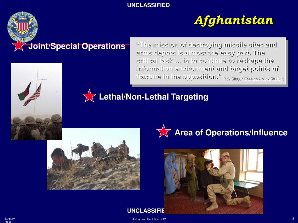 Joint/Special Operations