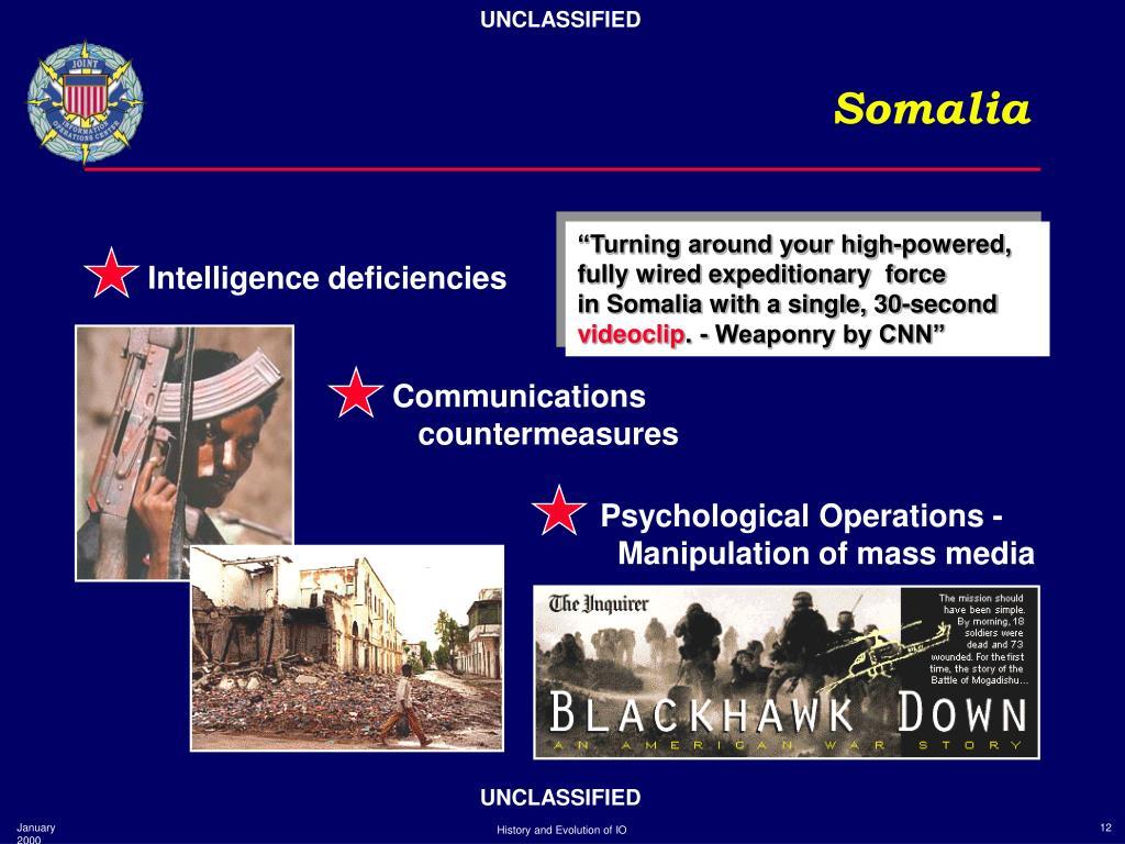 Intelligence deficiencies