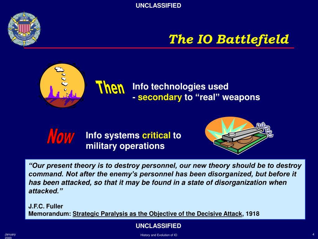 Info technologies used