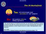 the io battlefield
