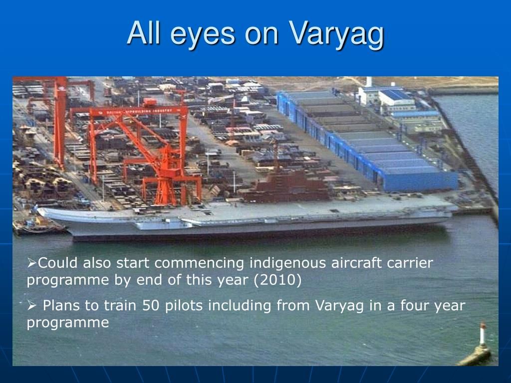 All eyes on Varyag