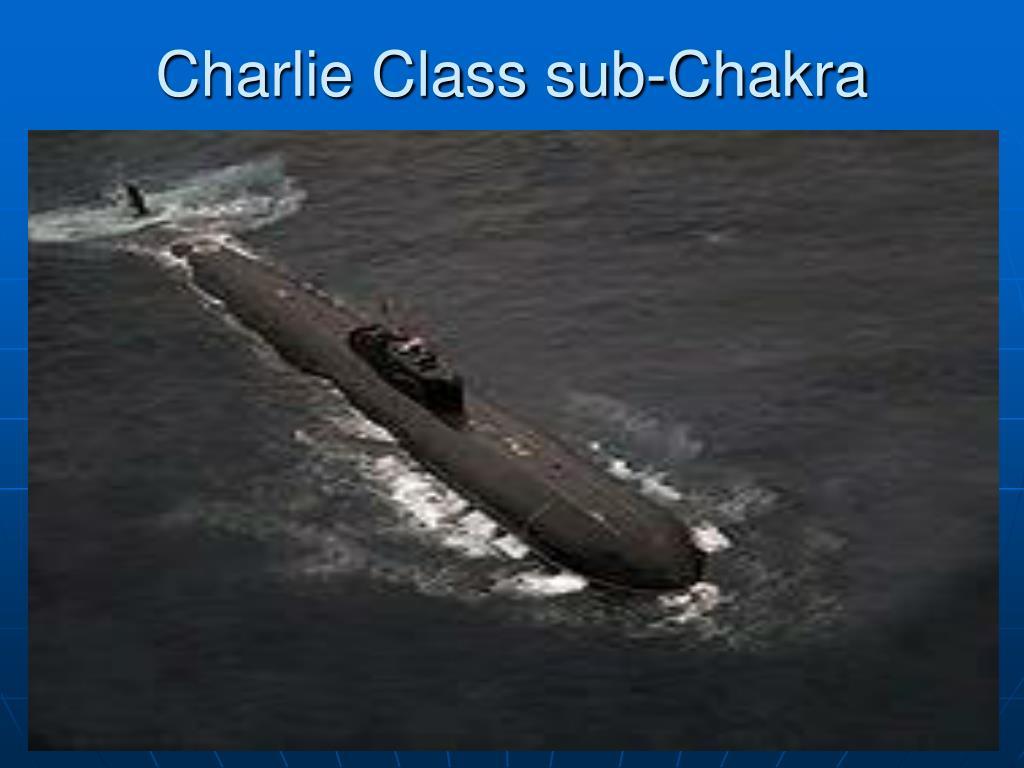 Charlie Class sub-Chakra
