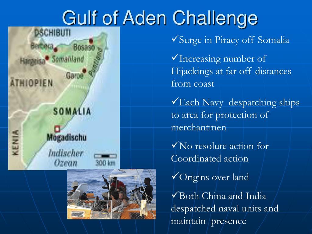 Gulf of Aden Challenge