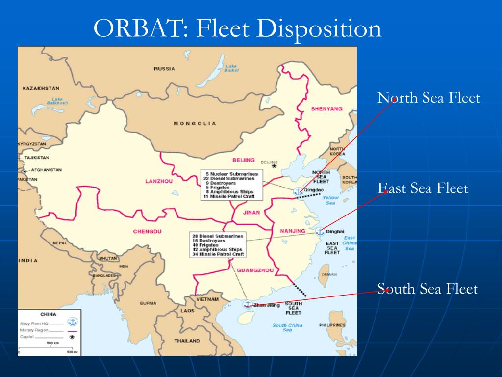 ORBAT: Fleet Disposition
