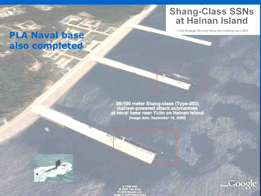PLA Naval base also completed
