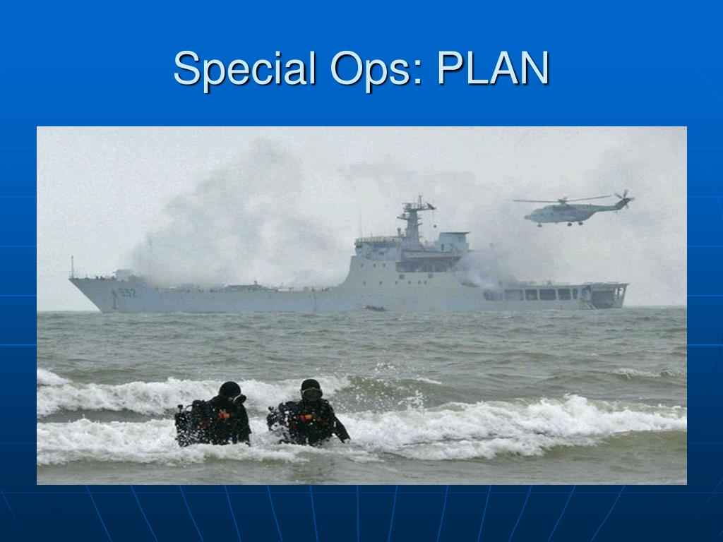 Special Ops: PLAN