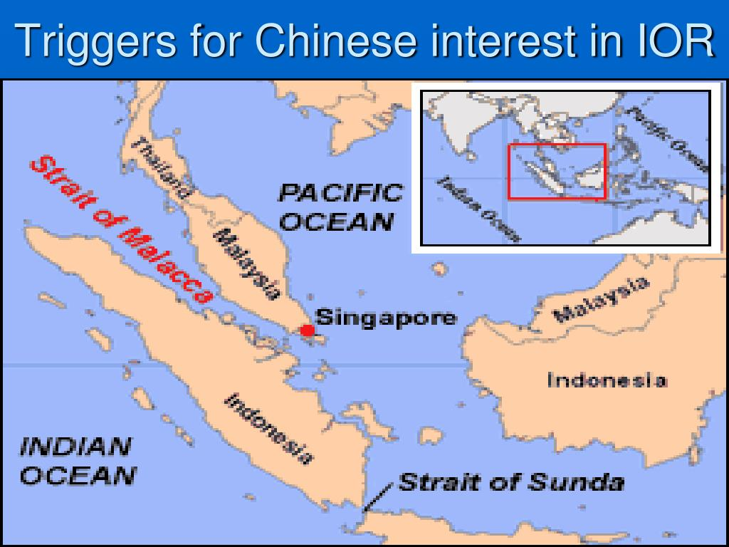 Triggers for Chinese interest in IOR