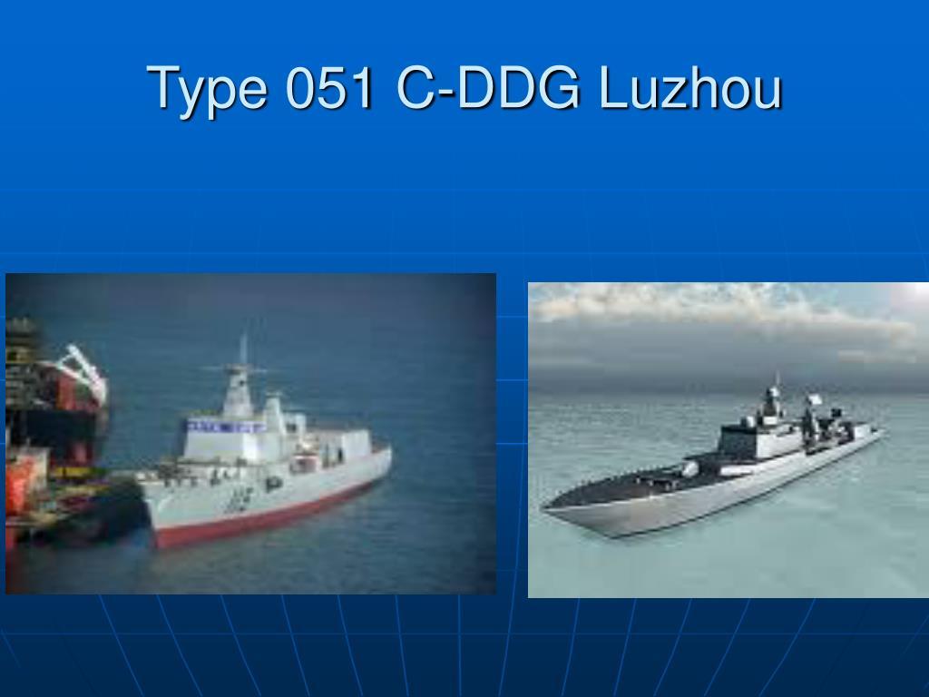 Type 051 C-DDG Luzhou